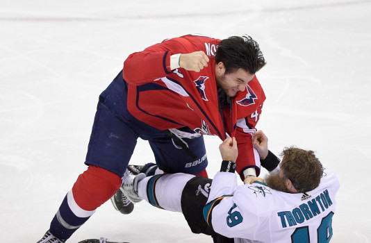 Tom Wilson Wants To Stay Out Of The Penalty Box More But That Doesn T Mean He Won T Still Be Physical Presence For Capitals Nova Caps