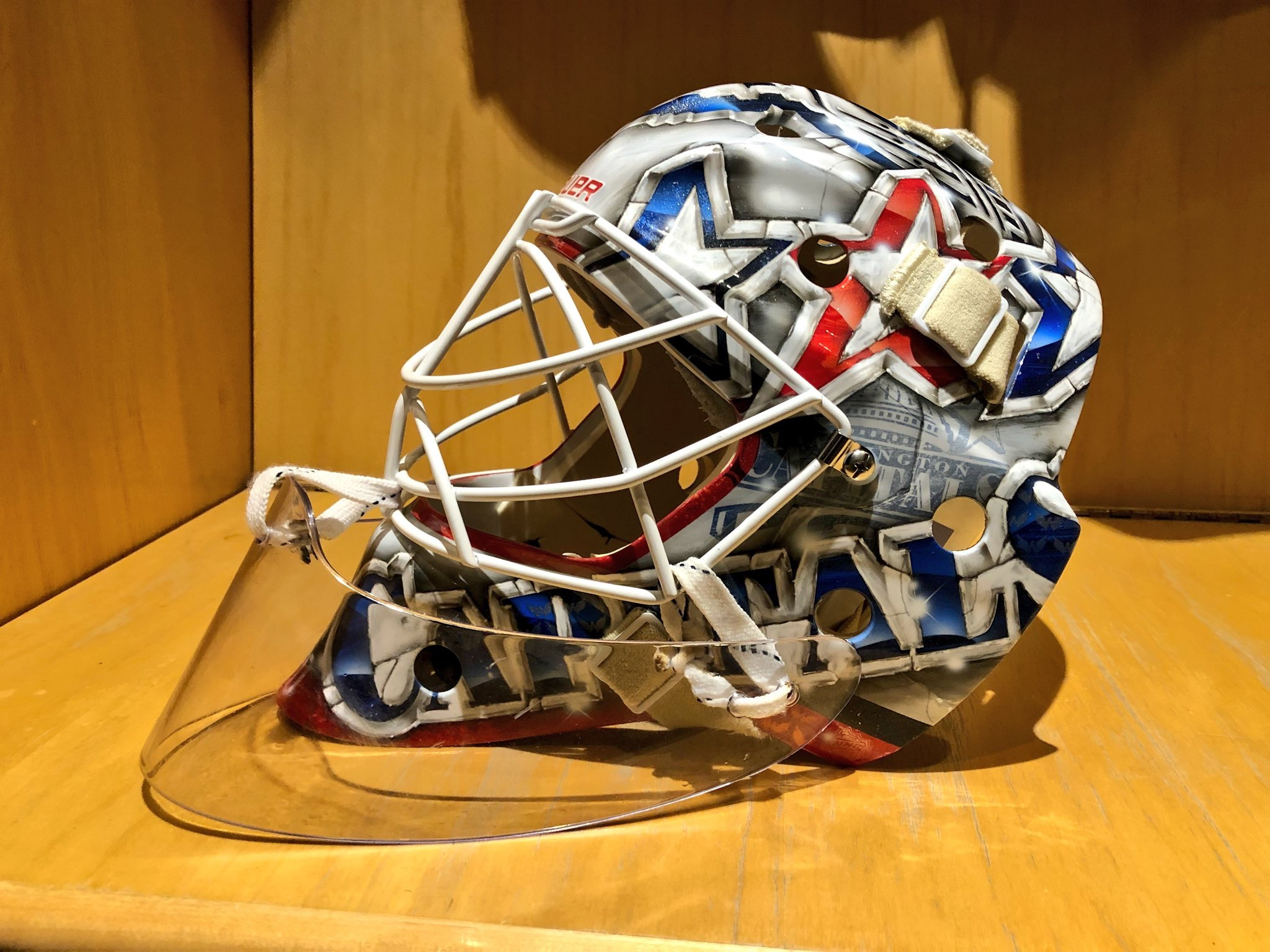 A Look At Braden Holtby S Beautiful New Bucket Nova Caps