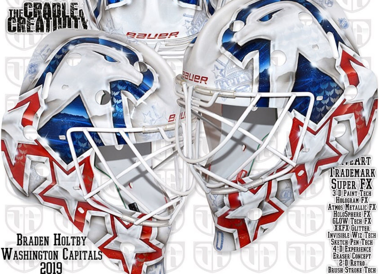 Artist David Gunnarsson Releases Video Of His Latest Creation For Braden Holtby Nova Caps